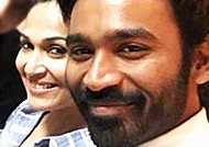 Dhanush and Soundarya meet a popular Tamil writer