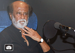 'Kaala' Movie Dubbing Gallery