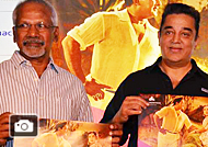 Kamal and Mani Ratnam At Viacom 18 & Film Heritage Foundation Press Meet