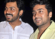 Karthi-Suriya project - Three hot young heroines in talks