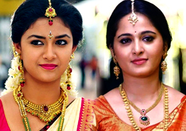 Anushka to rival Keerthy Suresh
