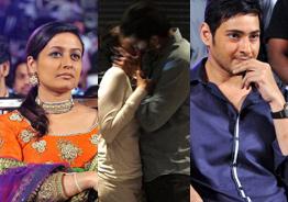 Mahesh Babu wife's passionate kiss goes viral!