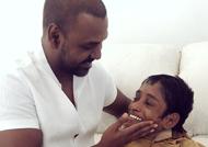 மாற்றுத்திறனாளி சிறுவனுடன் ராகவா லாரன்ஸின் நெகிழ்ச்சியான சந்திப்பு