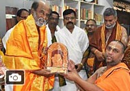Rajinikanth visited mantralayam Ragavendra temple Gallery