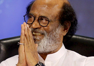 Rajinikanth gives a cleare answer to a question on his entering politics