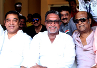 Rajini and Kamal to kickstart Nadigar Sangam building