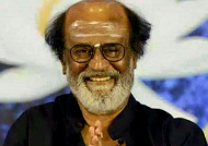 Senior Congress leader meets Superstar Rajinikanth