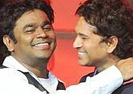 Rahman's surprise birthday gift to Sachin Tendulkar