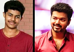 Thalapathy Vijay's son takes his second step in cinema