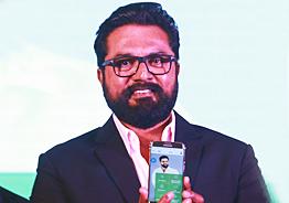 தகவல் பரிமாற்றங்களுக்காக சரத்குமார் வெளியிட்ட செயலி
