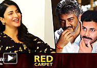 Shruti Haasan Reveals What She Likes About Pawan Kalyan and Ajith