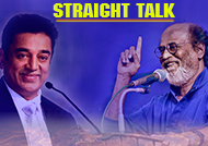 Straight Talk Rajini-Kamal rivalry to continue in politics