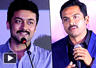 I want a man not a boy: not even Karthi : Suriya Karthi Speech