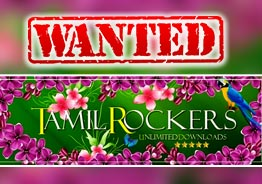Long Overdue ! FIR filed against Tamil Rockers and others