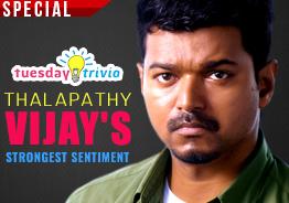 Tuesday Trivia ! Thalapathy Vijay's strongest sentiment