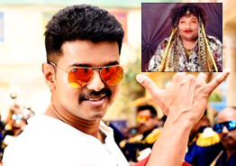 Vijay's cute reaction to Yogi Babu's 'Sarkar' getup video