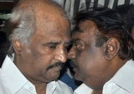 Vijayakanth's advice to Rajinikanth in politics