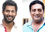 Vishal and Prakash Raj to visit New Delhi to support Farmers