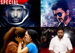 Indiaglitz Weekly Roundup: Liplock in Bigg Boss, Vijay's 'Sarkar', 'Tik Tik Tik' and many more. . .