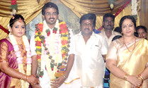 Actor Ramarajan Nalini Son Wedding