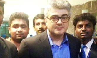 Ajith leaves to Bulgaria to take part in the final schedule of Vivegam from March 16 2017 - Tamil Movie News