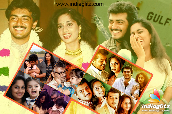 Today Is The 17th Wedding Anniversary Of Ajith Kumar And Shalini Most Celebrated Star Couple Tamil Cinema