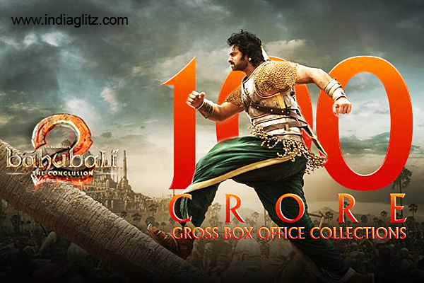 Baahubali 2 crosses Rs 100 crore mark in Tamil Nadu