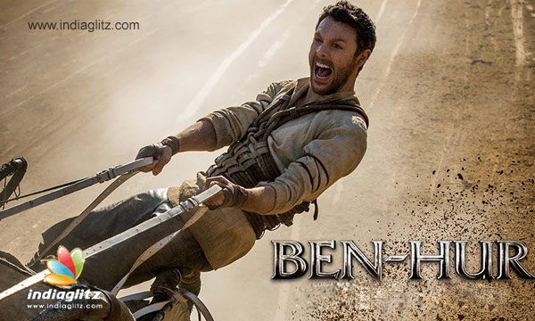 New Ben-Hur 2016 Intense Chariot Race Movie Clip Released class=