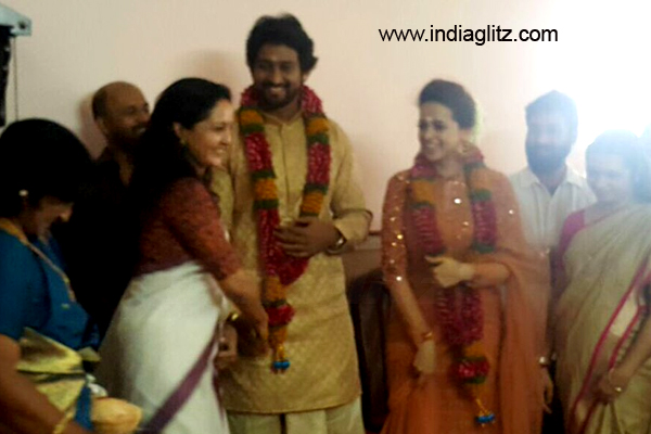 Bhavana Menon gets engaged to Kannada producer Naveen in a private ceremony!
