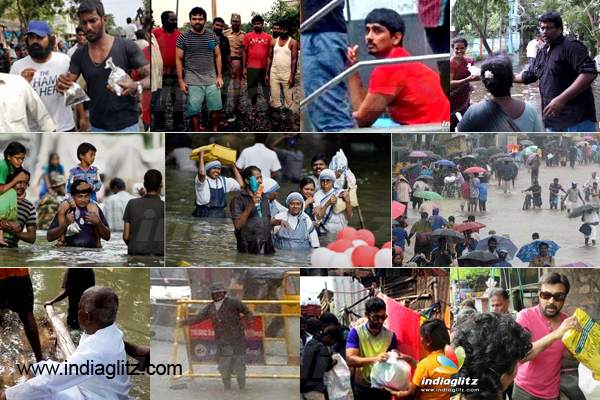 Chennai Rains Raise the Real Heroes