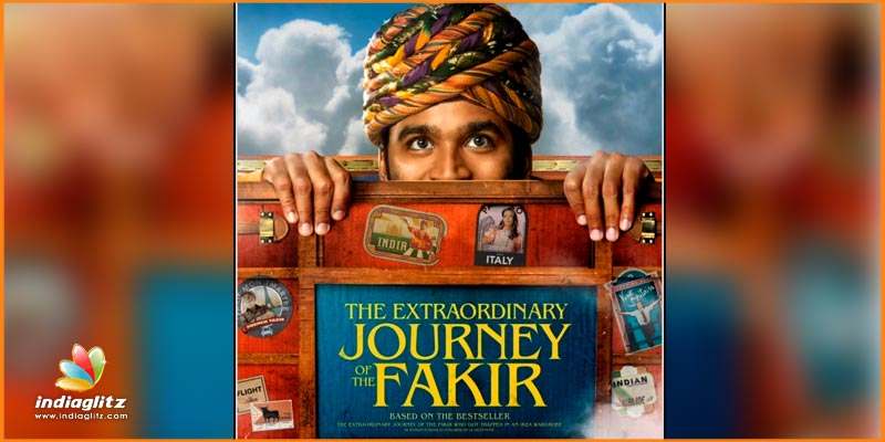Dhanush's The Extraordinary Journey Of The Fakir Is Very Colourful — TEASER POSTER