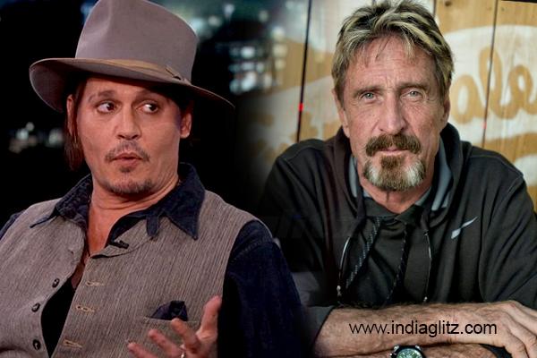 Depp to star in film McAfee antivirus software inventor