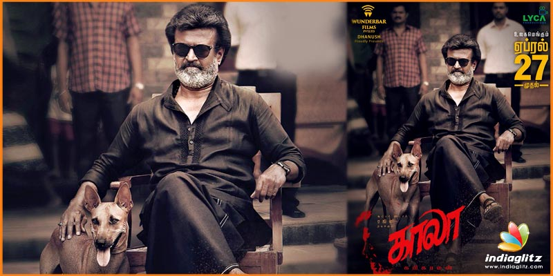 Rajinikanth's Kaala to release on April 27 th