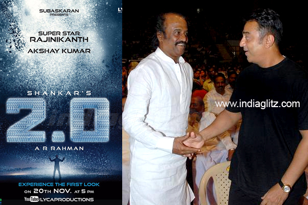KJo to launch first look of Shankar's Rajini-Akshay starrer 2.0