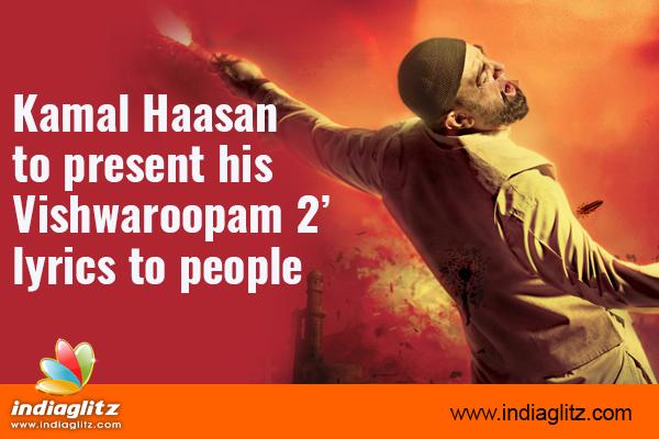 Kamal Haasan records last song in 'Vishwaroopam 2'