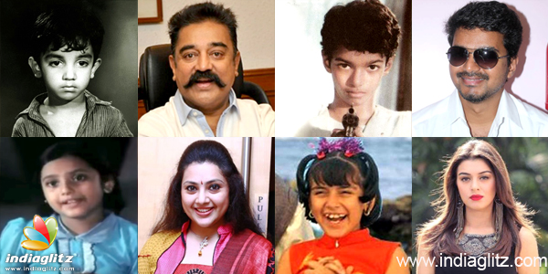 Stars Who Entered Kollywood As Child Artist