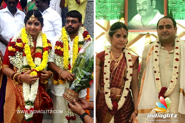 As Announced Earlier Director Vikram Kumar Married His Beau Sreenidhi In A Traditional Wedding Ceremony Held Star Hotel Chennai Today