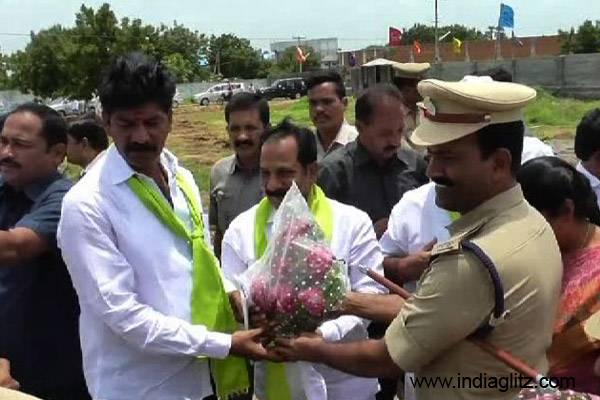 Telangana IAS Officers seek police probe in TRS MLA case