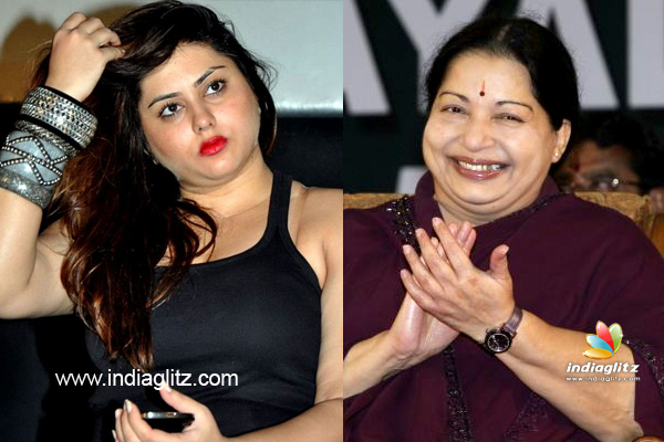 Namitha writes a letter to tamil nadu cm jayalalitha tamil movie as the tamil nadu state is bracing itself to face the assembly elections in may actress namitha who has acted in many leading heroes of tamil including thecheapjerseys Images