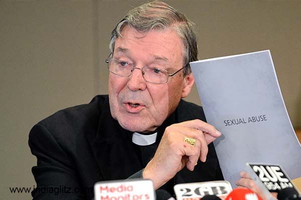 Cardinal Pell arrives in Australia to fight historical sex charges