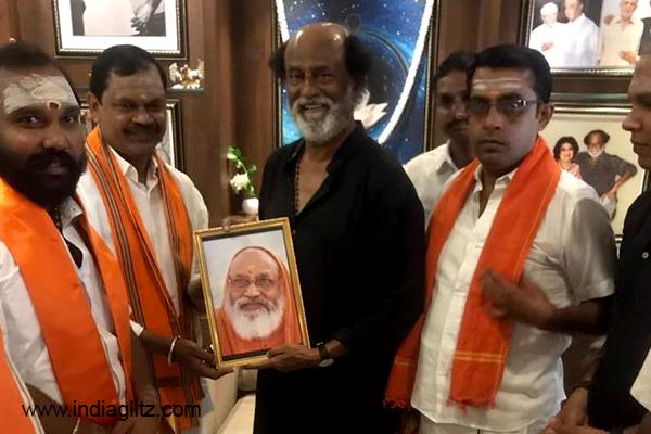 Rajinikanth will Enter Politics, Says Hindu Leader After Meeting Actor