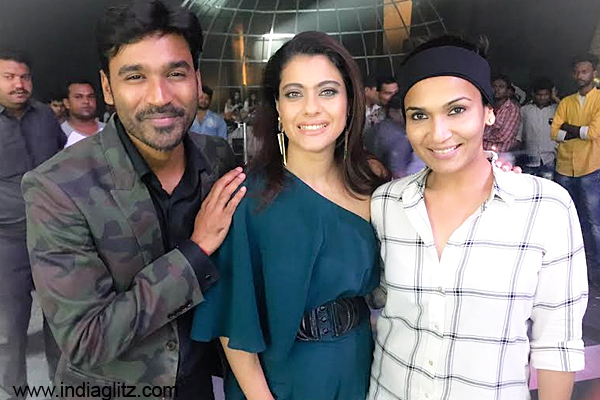 Dhanush and Kajol shake a leg