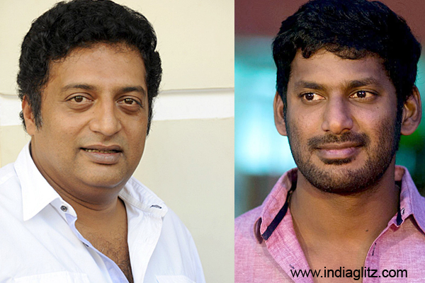 Actors Prakash Raj, Vishal join TN protesting farmers at Jantar Mantar