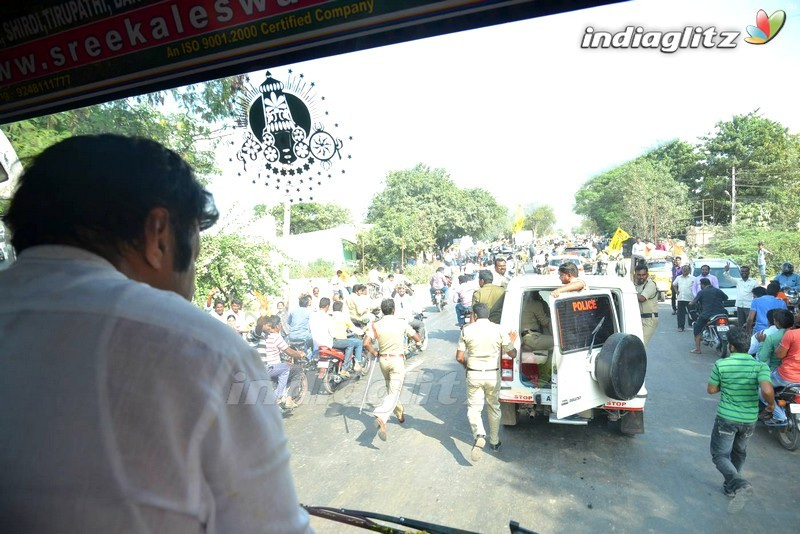 events   dictator team rally in hyd to amaravathi set 2