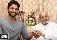 Allu Arjun Meets Dadasaheb Phalke Awardee K Viswanath