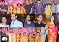 Celebs @ Producer Shyam Prasad Reddy's Daughter Wedding Gallery