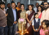 Ram Charan & MP Kavitha Launches Surendar Reddy's Ulavacharu Restaurant