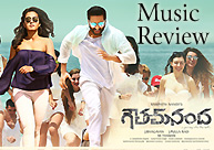'Gautham Nanda' Music Review