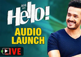 'HELLO' Audio Launch Live