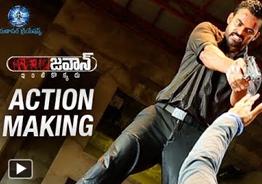 'Jawaan' Movie Action Making